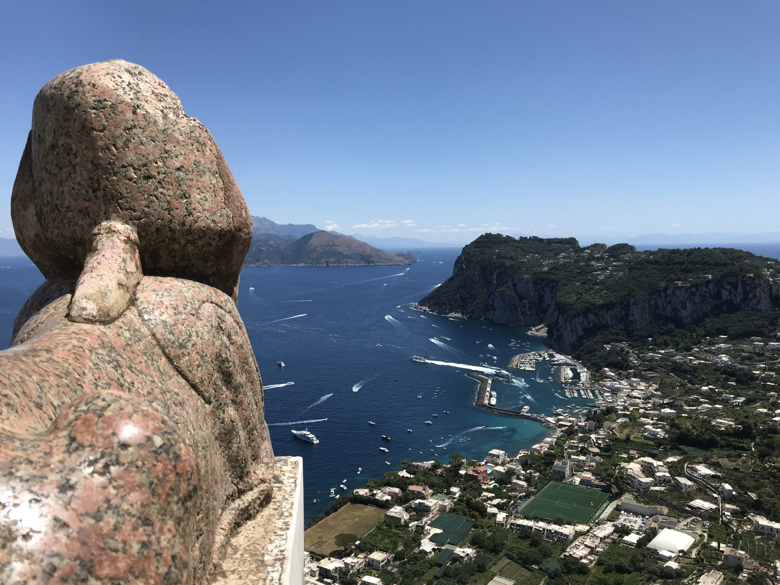 Capri, Panorama